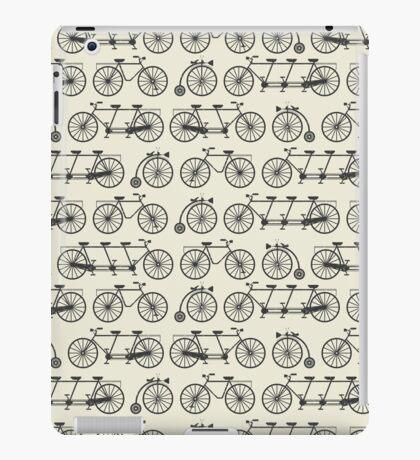 Retro bicycles iPad Case/Skin