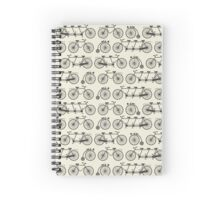 Retro bicycles Spiral Notebook
