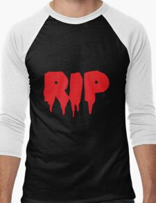 RIP in blood REST IN PEACE Men's Baseball ¾ T-Shirt