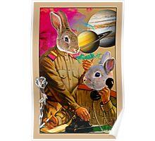Bunny Comrades Poster