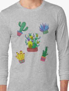 Cactus folie Long Sleeve T-Shirt
