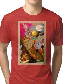 Bunny Comrades Tri-blend T-Shirt