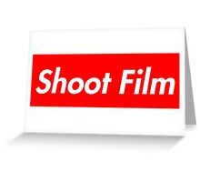 Shoot Film (Supreme Style) Greeting Card