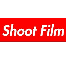 Shoot Film (Supreme Style) Photographic Print