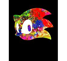 Sonic logo (painting) Photographic Print