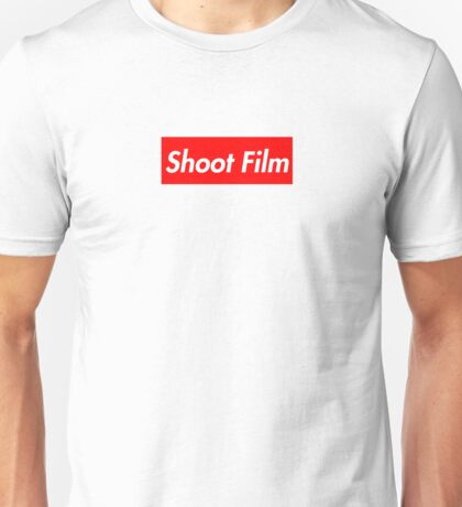 Shoot Film (Supreme Style) Unisex T-Shirt