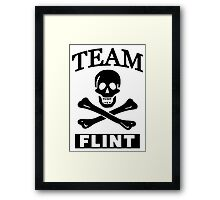 Team Flint Framed Print
