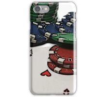 Poker Chips iPhone Case/Skin
