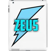 Zeus logo merch iPad Case/Skin