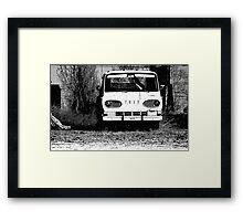 Ford Black and White Framed Print