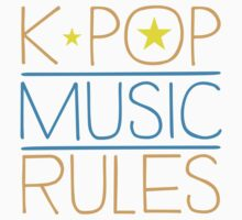 K-POP MUSIC RULES One Piece - Long Sleeve