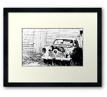 Studebaker Sketch  Framed Print