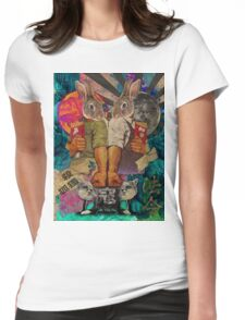 Kill the Fox! Womens Fitted T-Shirt