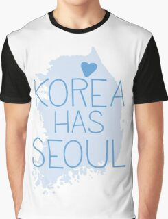 Korea has SEOUL Graphic T-Shirt