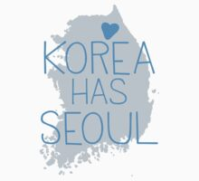 Korea has SEOUL Kids Tee