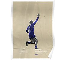 George Best 1968 European Cup Final Poster