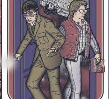 Time Travelers Sticker