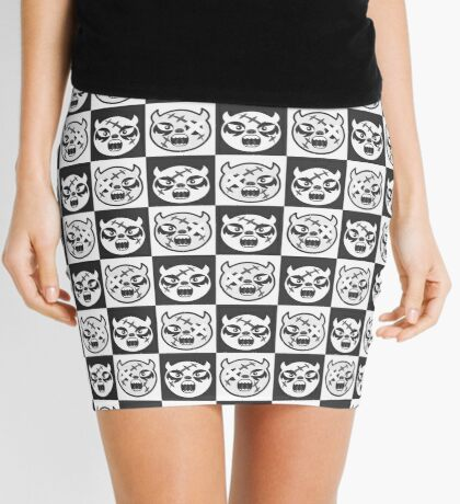 tutti-frutti B/W Mini Skirt