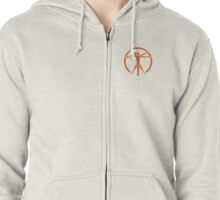 The Institute Zipped Hoodie