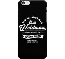 Chris Weidman iPhone Case/Skin