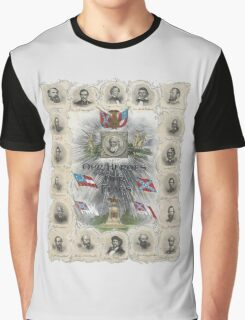 Our Heroes and Our Flags Graphic T-Shirt