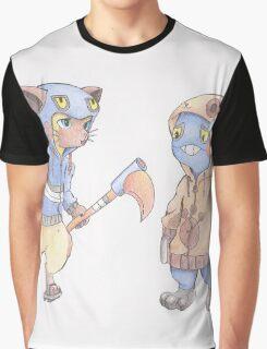 Awkward Situation Graphic T-Shirt