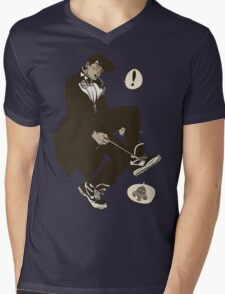 Josuke, Who Are You Wearing? Mens V-Neck T-Shirt