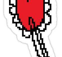Pixel Candy Heart Melanie Martinez Tattoos Sticker
