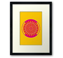 gyre - candy Framed Print