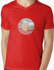 2015: a space odyssey Mens V-Neck T-Shirt