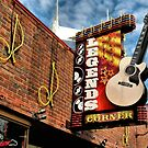 """""""Legends Corner's Famous Neon Sign""""... prints and products by © Bob Hall"""