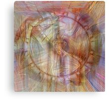 Dagda's Harp Canvas Print