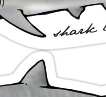 shark love Sticker
