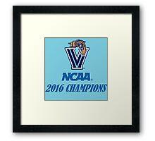 Villanova Wildcats 2016 NCAA Champions Framed Print