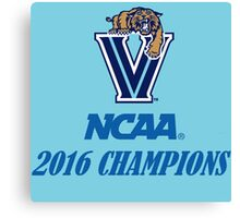 Villanova Wildcats 2016 NCAA Champions Canvas Print
