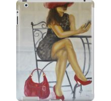 """Texting you"" iPad Case/Skin"