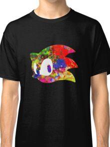 Sonic logo (painting) Classic T-Shirt