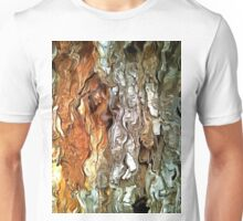 Abstract Faces in Nature Unisex T-Shirt