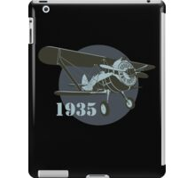 Retro fighter plane iPad Case/Skin