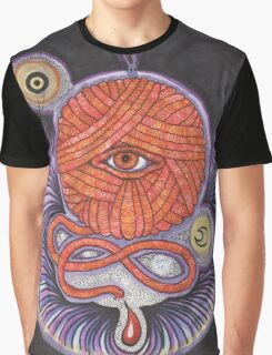 KNITCROMANCY: Unraveling the Cosmic Yarn Graphic T-Shirt