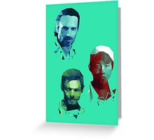 The Walking Dead Rick, Daryl and Glenn Greeting Card