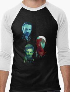 The Walking Dead Rick, Daryl and Glenn Men's Baseball ¾ T-Shirt