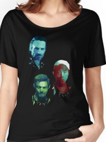 The Walking Dead Rick, Daryl and Glenn Women's Relaxed Fit T-Shirt