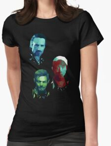 The Walking Dead Rick, Daryl and Glenn Womens Fitted T-Shirt