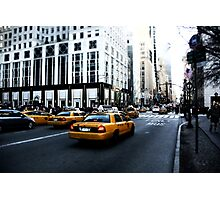New York 5th Avenue Photographic Print