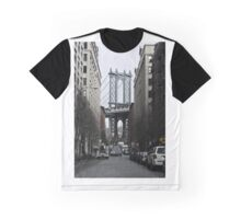 Brooklyn Manhattan Bridge Overpass DUMBO Graphic T-Shirt