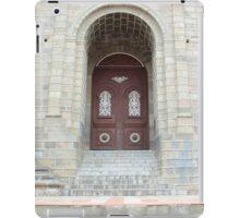 Church Facade iPad Case/Skin