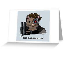 The Tabbinator Greeting Card