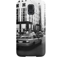 New York 5th Avenue Black & White Samsung Galaxy Case/Skin