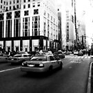 New York 5th Avenue Black & White by Lee Whitmarsh